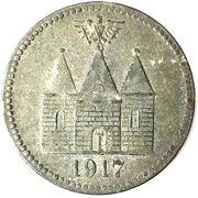 50 Pfennig (Wittenberge) [Stadtgemeinde, Brandenburg] – reverse