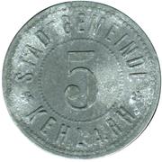5 Pfennig (Kehl am Rhein) [Stadt, Baden] – obverse