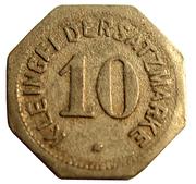 10 Pfennig (Mainz) [Stadt, Hessen] – reverse