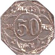 50 Pfennig (Lauterbach) [Kreis, Hessen] – obverse