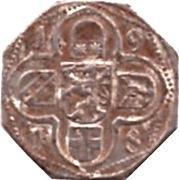 50 Pfennig (Lauterbach) [Kreis, Hessen] – reverse