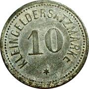 10 Pfennig (Darmstadt) [Stadt, Hessen] – reverse