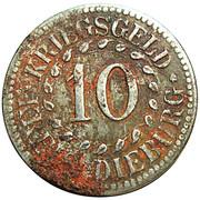 10 Pfennig (Dieburg) [Kreis, Hessen] – obverse