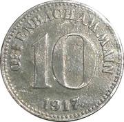 10 Pfennig (Offenbach am Main) [Stadt, Hessen] – obverse