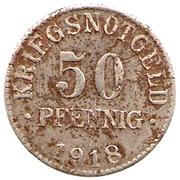 50 Pfennig (Braunschweig) [Herzogtum] – reverse