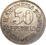50 Pfennig (Bad Blankenburg) [Stadt, Schwarzburg-Rudolstadt] – obverse