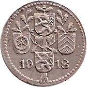 5 Pfennig (Dieburg) [Kreis, Hessen] – reverse