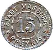 15 Pfennig (Marburg an der Lahn) [Stadt, Hessen-Nassau] – obverse