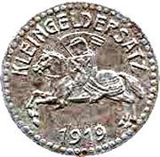 15 Pfennig (Marburg an der Lahn) [Stadt, Hessen-Nassau] – reverse