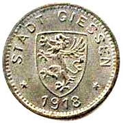 10 Pfennig (Giessen) [Stadt, Hessen] – obverse