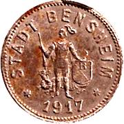 50 Pfennig (Bensheim) [Stadt, Hessen] – obverse