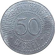 50 Pfennig (Cassel) [POW, Hessen-Nassau] – obverse