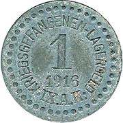 1 Pfennig Kriegsgefangenenlager IX A.K. Armee Korps Güstrow. POW CAMP – obverse