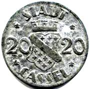 20 Pfennig (Cassel) [Stadt, Hessen-Nassau] – obverse