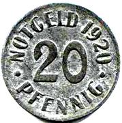 20 Pfennig (Cassel) [Stadt, Hessen-Nassau] – reverse