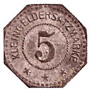 5 Pfennig (Ludwigshafen am Rhein) [Stadt, Pfalz] – reverse