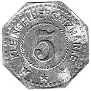 5 Pfennig (Sangerhausen) [Stadt, Provinz Sachsen] – reverse