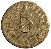 5 Pfennig (Lützen) [Stadt, Provinz Sachsen] – reverse