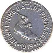 50 Pfennig (Pirmasens) [Stadt, Pfalz] – obverse