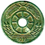 20 Pfennig (Crefeld) [Strassenbahn, Rheinprovinz] – reverse