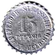 15 Pfennig (Crefeld) [Strassenbahn, Rheinprovinz] – reverse