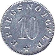10 Pfennig (Lützen) [Stadt, Provinz Sachsen] – reverse