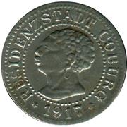 5 Pfennig (Coburg) [Stadt, Sachsen-Coburg] – obverse