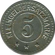 5 Pfennig (Coburg) [Stadt, Sachsen-Coburg] – reverse