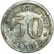 50 Pfennig (Wald im Rheinland) [Stadt, Rheinprovinz] – reverse