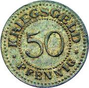 50 Pfennig (Solingen) [Gemeinden, Rheinprovinz] – reverse