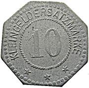 10 Pfennig (Trier) [Private, Rheinprovinz, Hermann Haas] – reverse