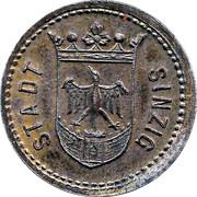 50 Pfennig (Sinzig) [Stadt, Rheinprovinz] – obverse