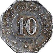 10 Pfennig (Langerfeld) [Private, Rheinprovinz, Alb. & E. Henkels] – reverse
