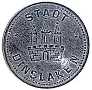 50 Pfennig (Dinslaken) [Stadt, Rheinprovinz] – obverse