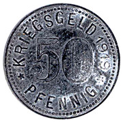 50 Pfennig (Dinslaken) [Stadt, Rheinprovinz] – reverse