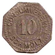 10 Pfennig (Schmölz) [Consumverein, Bayern] – obverse
