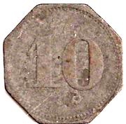 10 Pfennig (Schmölz) [Consumverein, Bayern] – reverse