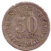 50 Pfennig (Schönwald) [Gemeinde, Bayern] – obverse