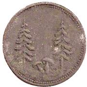 50 Pfennig (Schönwald) [Gemeinde, Bayern] – reverse
