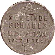 50 Pfennig (Schmölz) [Gemeinde, Bayern] – obverse