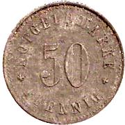 50 Pfennig (Schmölz) [Gemeinde, Bayern] – reverse