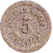 5 Pfennig (Ingolstadt) [POW, Bayern] – obverse
