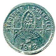 10 Pfennig (Schmölln) [Stadtrat, Sachsen-Altenburg] – obverse
