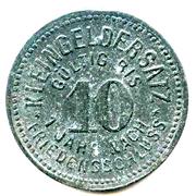 10 Pfennig (Schmölln) [Stadtrat, Sachsen-Altenburg] – reverse