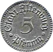 5 Pfennig (Altenburg) [Stadt, Sachsen-Altenburg] – obverse
