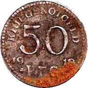 50 Pfennig (Rudolstadt) [Stadt, Schwarzburg-Rudolstadt] – reverse