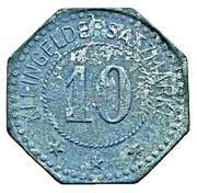 10 Pfennig (Pinneberg) [Private, Schleswig-Holstein, Pinneberger Bank] – reverse