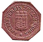 10 Pfennig (Elmshorn) [Private, Schleswig-Holstein, Kredit-Verein] – obverse