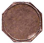 10 Pfennig (Nüssau) [Private, Schleswig-Holstein, Securitas] – reverse