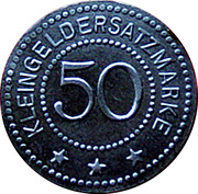 50 Pfennig (Oldisleben) [Gemeinde, Sachsen-Weimar-Eisenach] – reverse